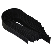 Velcro Cable Ties Reusable / Cable Tidy 20mm x 180mm 10 Pack