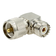 UHF Right-Angled P/J Adaptor