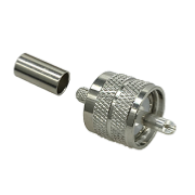 UHF Crimp Plug (Solder Pin)